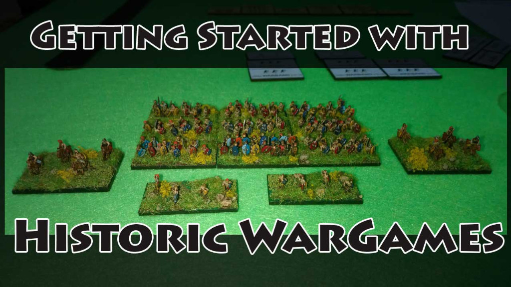 So you want to get into historic wargames?
