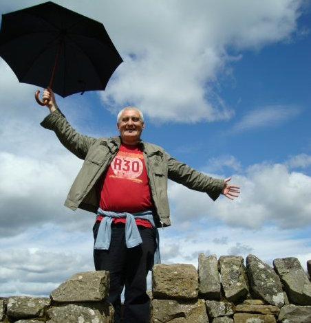 Ringo At Hadrian's Wall